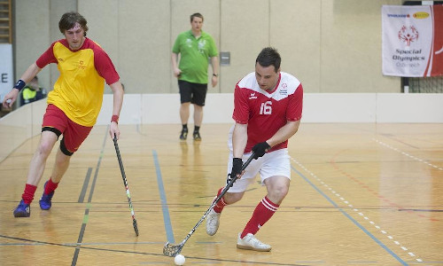 Special Olympics have paired with the International Floorball Federation to introduce new technology.